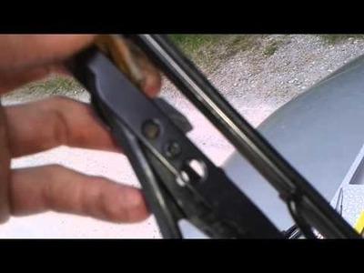 Scheibenwischer wechseln  Auto Scheibenwischer selber wechseln DIY