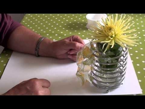 Diy Herbst  Deko Ideen  Floristik Floral Design, Dahlie u. Zinnie aus dem Garten