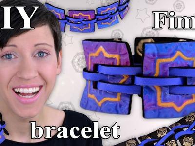FIMO Armband (Schmuck): Polymer Clay Bracelet - Tutorial [HD.DE] (EN-Sub)