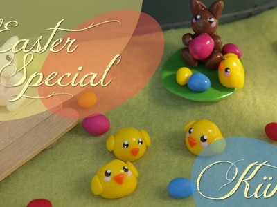 KÜKEN | CHICK  | FIMO Tutorial #easterspecial