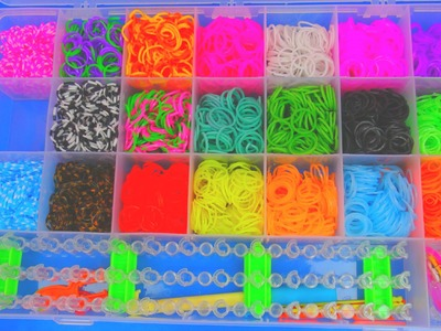 Loom Bands Unboxing Tisey Holiday Fun Box deutsch - Loom Bandz Package haul and unboxing