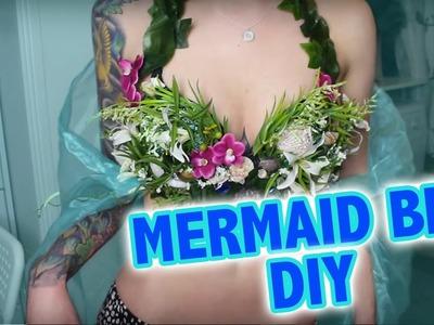 Mermaid Bra DIY I Meerjungfrau Oberteil Tutorial I Kupferfuchs Bastelstube