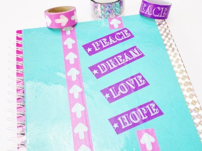 DIY Inspiration Challenge #48 Collegeblock | Evas Challenge | Tutorial - Do it yourself