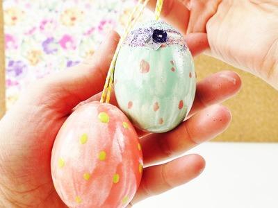 DIY Ostereier Dekoration | Eier auspumpen mit einer Eierpumpe DEMO | Tolle Nagellack Ostereier