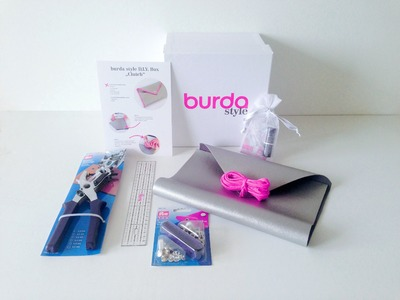 Burda style DIY Box 3 – Clutch