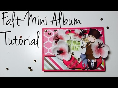 DIY Scrapbook *Falt-Mini Album* [ tutorial | deutsch]