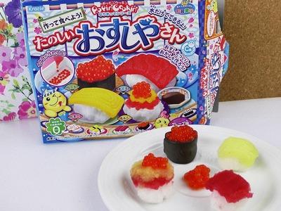 Kracie  Popin' Cookin' Sushi Set | DIY japanische Süßigkeiten | DEMO | Candy selber machen