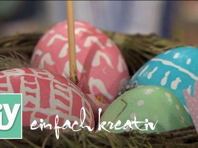 Ostereier verzieren | DIY einfach kreativ