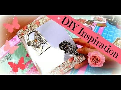 DIY Inspiration Anleitung | Washi Tape Ideen Woche | Vintage Karte selber machen A5 | 9999 Dinge