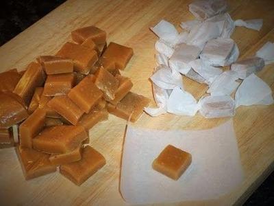 DIY: Karamellbonbons Selber Machen - Karamell Selbstgemacht (Rezept)