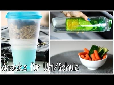 Gesunde Snack Ideen für Schule&Uni | Kisu