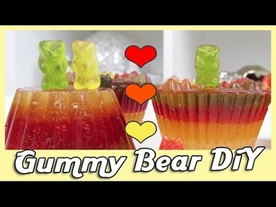 Haribo Cup Cakes DiY Gummy Bear  EASY + LECKER