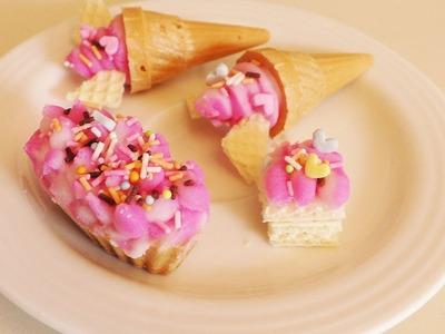 Kracie Popin' Cookin' DIY Eis Set Snacktest |  DIY Süßigkeiten mit Eishörnchen in Vanille & Erdbeere
