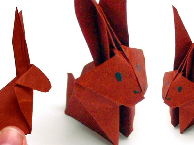 Origami Tiere falten - #06 Hase (Bunny)
