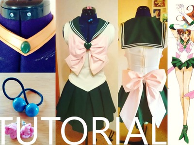 Sailor Jupiter Cosplay Tutorial [german]