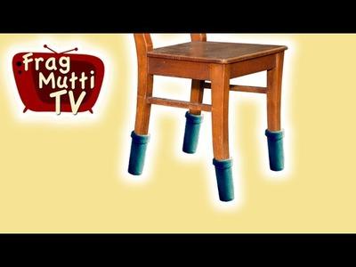 Tisch- & Stuhlsocken nähen | Frag Mutti TV
