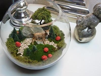 DIY: Miniaturlandschaft als hübsche Deko für den Tisch selbst machen | Deko-Kitchen