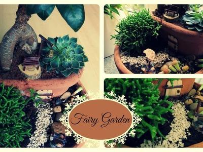 Fairy Garden #2 * Minigarten im Topf