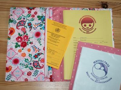 Hüllen für Vorsorge-Heft und Mutterpass nähen - U-Heft-Hülle