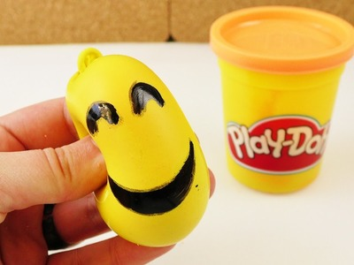 Orbeez Ball Alternative | Emoji Play-Doh Antistressball selber machen | Deutsch