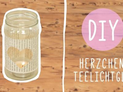 Romantic DIY: Teelichtglas für Stunden zu zweit
