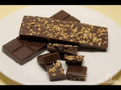 Tutorial: Weihnachtsschokolade
