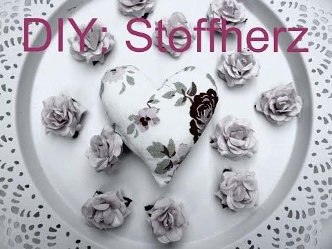 DIY: Stoffherz ❤