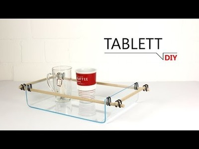 DIY - Tablett. DIY-THAT'S SIMPLE