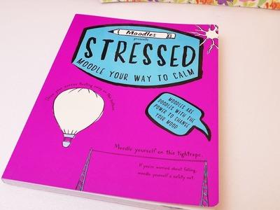 """Buchvorstellung """"Moodles Presents Stressed""""   kreatives Buch gegen Stress   Neues Kritzelbuch"""