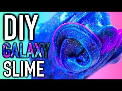 DIY GALAXY SLIME ❤️ DEUTSCH ❤️ ohne Borax