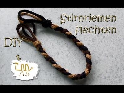 "【DIY】 ~ Stirnriemen flechten ~ 【""Normal geflochten""】"