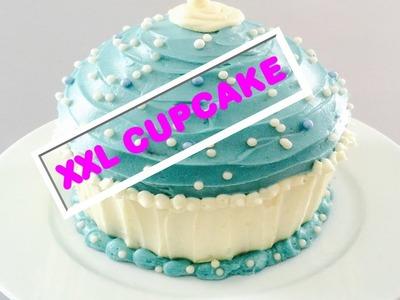 DIY. XXL GIANT Cupcake. Selber Machen. Rezept & Tipps 2015. BackLounge