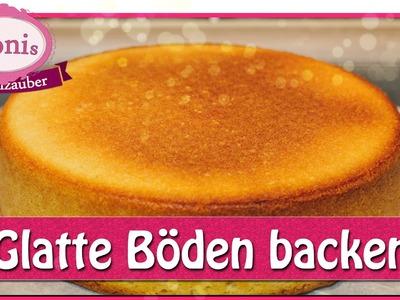 Kuchen mit glatter Oberfläche backen - glatte Tortenböden. Tipps. Tonis Tortenzauber #0012