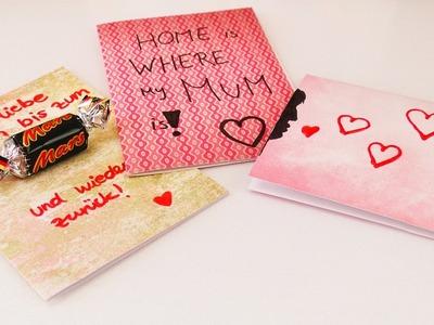 Muttertag DIY Ideen | Drei tolle Karten zum selber machen | einfach & schön | Geschenk für Vatertag