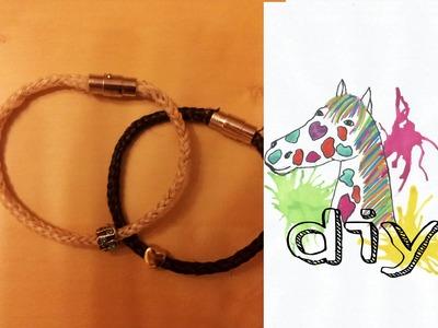 Pferdehaar Armband (DIY)