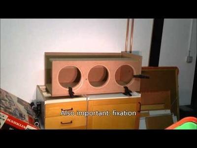 Subwoofer Gehäuse planen & bauen - Teil 2 (3x 10