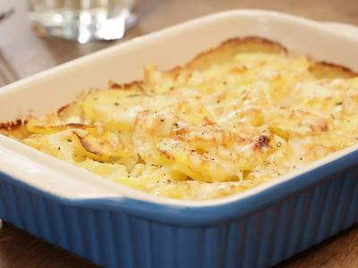 Kartoffelgratin: herrlich würzig und cremig