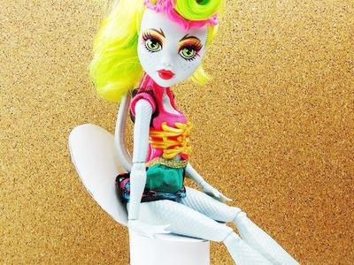 Monster High Toilette basteln | Barbie Möbel selber machen | Badezimmer Ideen