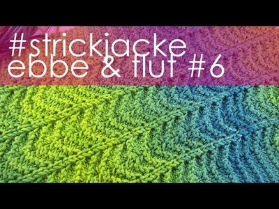 Nadelspiel StriMiMi April 2016 * Strickjacke