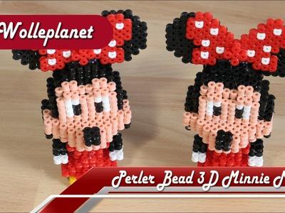 Perler Bead 3D Minnie Mouse