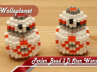 Perler Bead 3D Star Wars BB-8