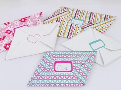 Briefe super einfach falten | Briefe ohne Umschlag | Nachrichten & Liebesbriefe gestalten | schnell