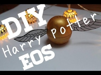 DIY HARRY POTTER EOS | #ChristmasWithBecci