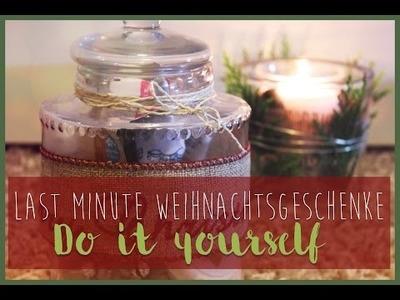Günstige Last Minute DIY Weihnachtsgeschenke :)