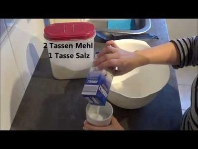 DIY. Salzteig - Handabdruck