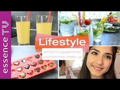 Sommer party : drinks diy und leichtes make up l essenceTV