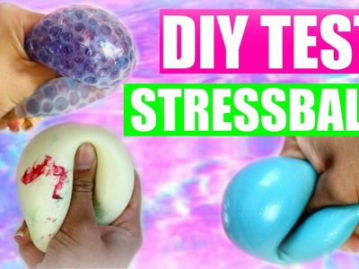 DIY Tumblr STRESSBÄLLE TEST | SofiaBeautyCafe