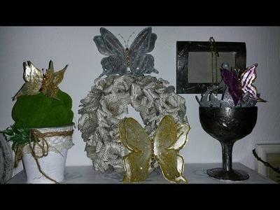 3D Schmetterling aus Milchtüten