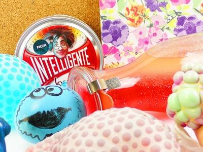 6 DIY Ideen gegen Stress | Orbeez Ball, Squeezy Mash Ball, Knete + Anleitung Antistressflasche