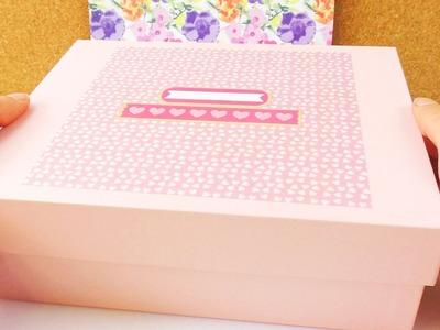 DIY Geschenkbox für die beste Freundin | Box mit schönen Ideen für die BFF | Fotos & Nachrichten